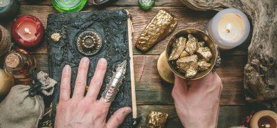 Temple of Chrysalis magic golden stones alchemy