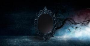 Black mirror sending dark shadows
