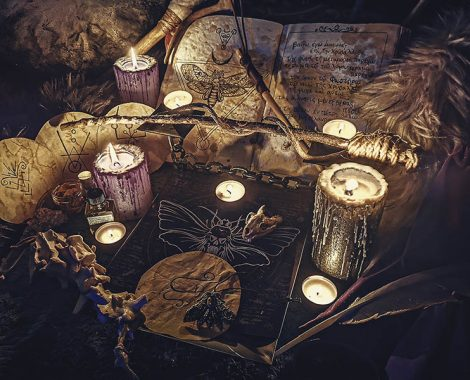 Temple of Chrysalis magic